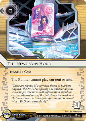 Android Netrunner The News Now Hour Image