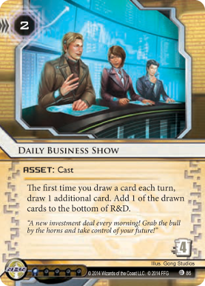 Android Netrunner Daily Business Show Image