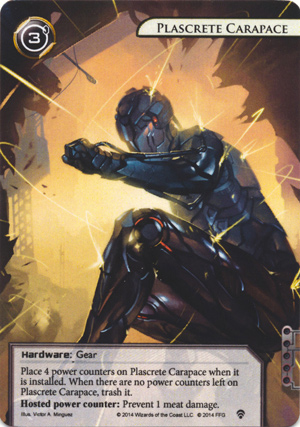 Android Netrunner Plascrete Carapace Image