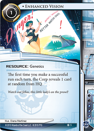 Android Netrunner Enhanced Vision Image