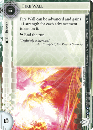 Android Netrunner Fire Wall Image