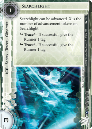 Android Netrunner Searchlight Image