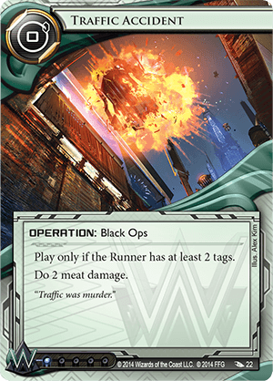Android Netrunner Traffic Accident Image