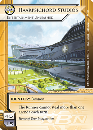 Android Netrunner Haarpsichord Studios: Entertainement Unleached Image