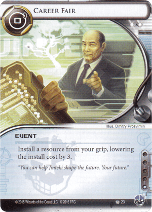 Android Netrunner Career Fair Image