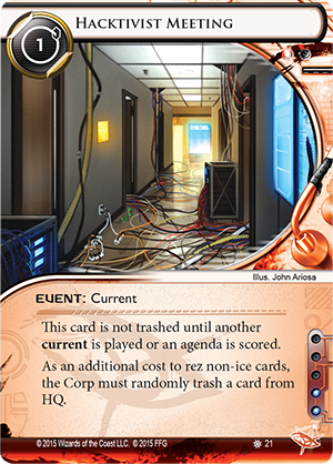 Android Netrunner Hacktivist Meeting Image
