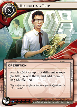 Android Netrunner Recruiting Trip Image
