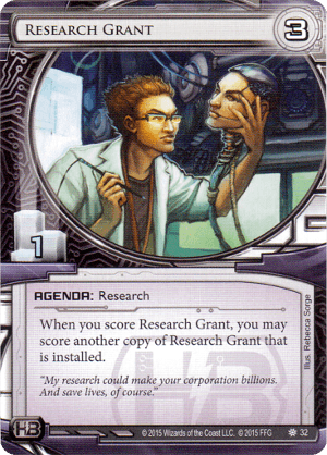 Android Netrunner Research Grant Image