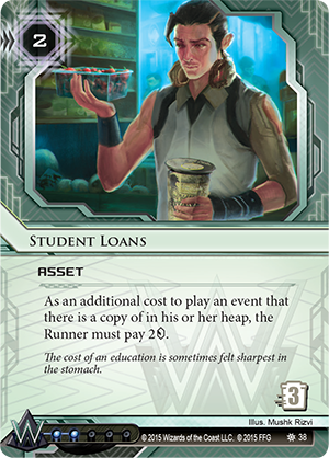 Android Netrunner Student Loans Image