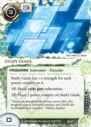 Android Netrunner Study Guide Image