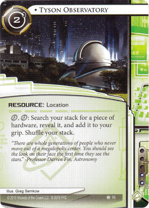 Android Netrunner Tyson Observatory Image