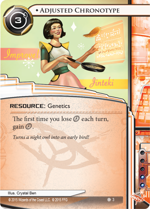 Android Netrunner Adjusted Chronotype Image