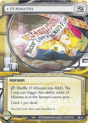 Android Netrunner 15 Minutes Image