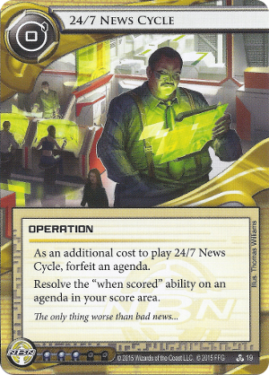 Android Netrunner 24/7 News Cycle Image