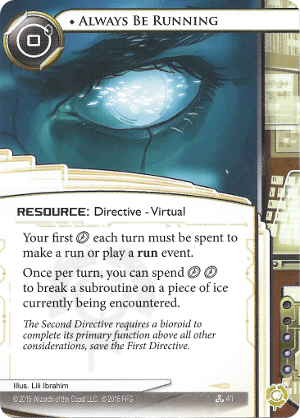 Android Netrunner Always Be Running Image
