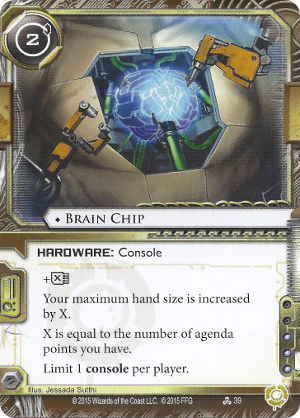 Android Netrunner Brain Chip Image