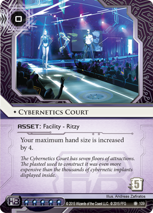 Android Netrunner Cybernetics Court Image