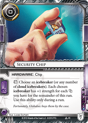 Android Netrunner Security Chip Image