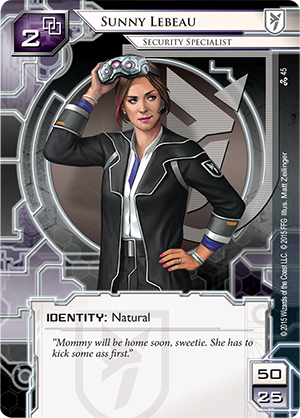 Android Netrunner Sunny Lebeau: Security Specialist Image