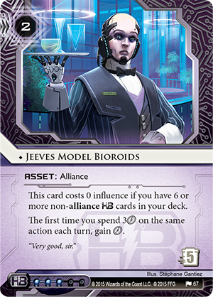 Android Netrunner Jeeves Model Bioroids Image