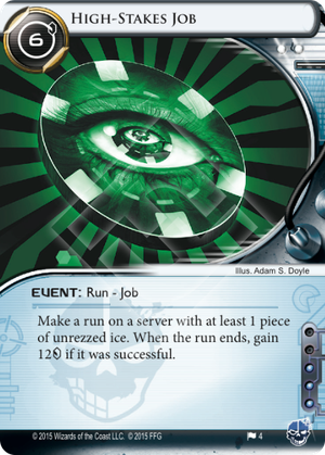 Android Netrunner High-stakes Job Image