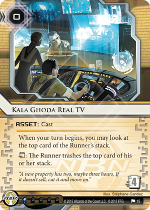 Android Netrunner Kala Ghoda Real TV Image