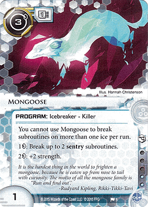 Android Netrunner Mongoose Image