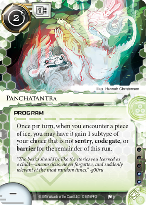 Android Netrunner Panchatantra Image