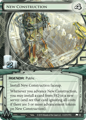 Android Netrunner New Construction Image