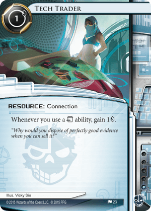 Android Netrunner Tech Trader Image