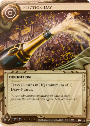 Android Netrunner Election Day Image