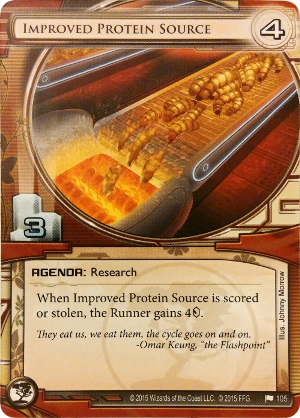 Android Netrunner Improved Protein Source Image