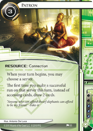 Android Netrunner Patron Image