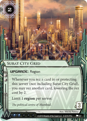 Android Netrunner Surat City Grid Image