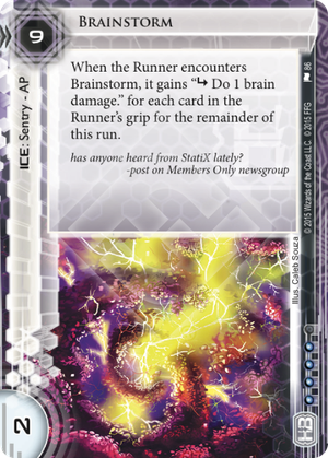 Android Netrunner Brainstorm Image