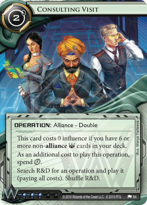 Android Netrunner Consulting Visit Image