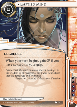 Android Netrunner Emptied Mind Image
