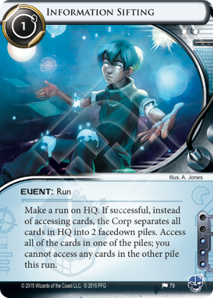 Android Netrunner Information Sifting Image