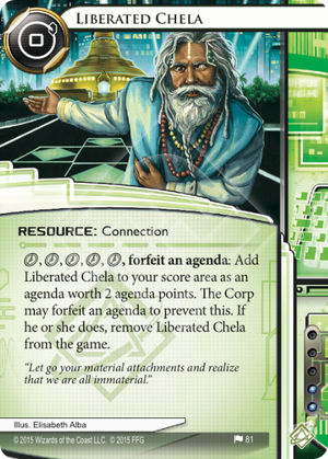 Android Netrunner Liberated Chela Image