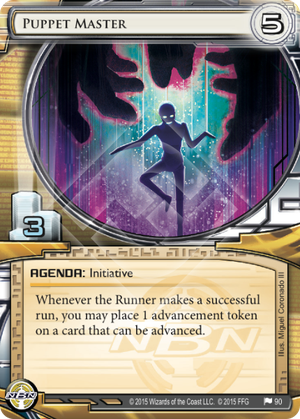 Android Netrunner Puppet Master Image