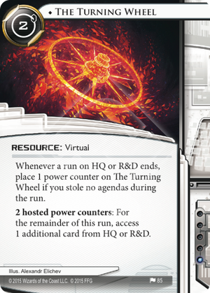 Android Netrunner The Turning Wheel Image