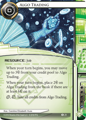 Android Netrunner Algo Trading Image