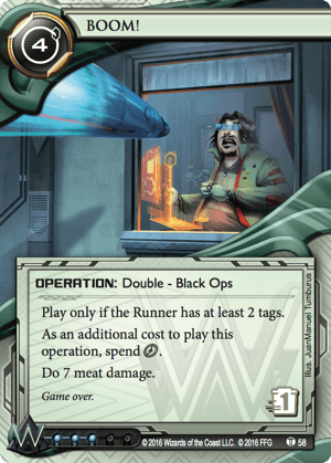 Android Netrunner BOOM! Image