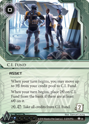 Android Netrunner C.I. Fund Image