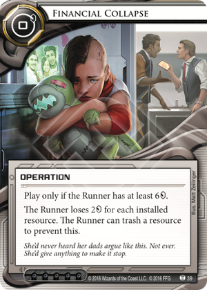 Android Netrunner Financial Collapse Image