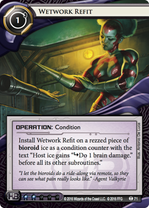Android Netrunner Wetwork Refit Image