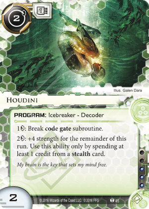 Android Netrunner Houdini Image