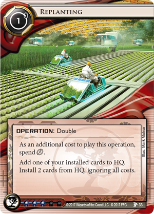 Android Netrunner Replanting Image