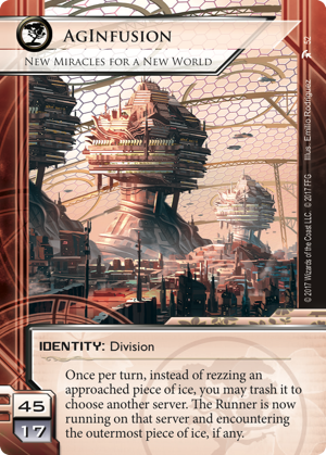 Android Netrunner AgInfusion: New Miracles for a New World Image