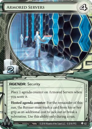 Android Netrunner Armored Servers Image